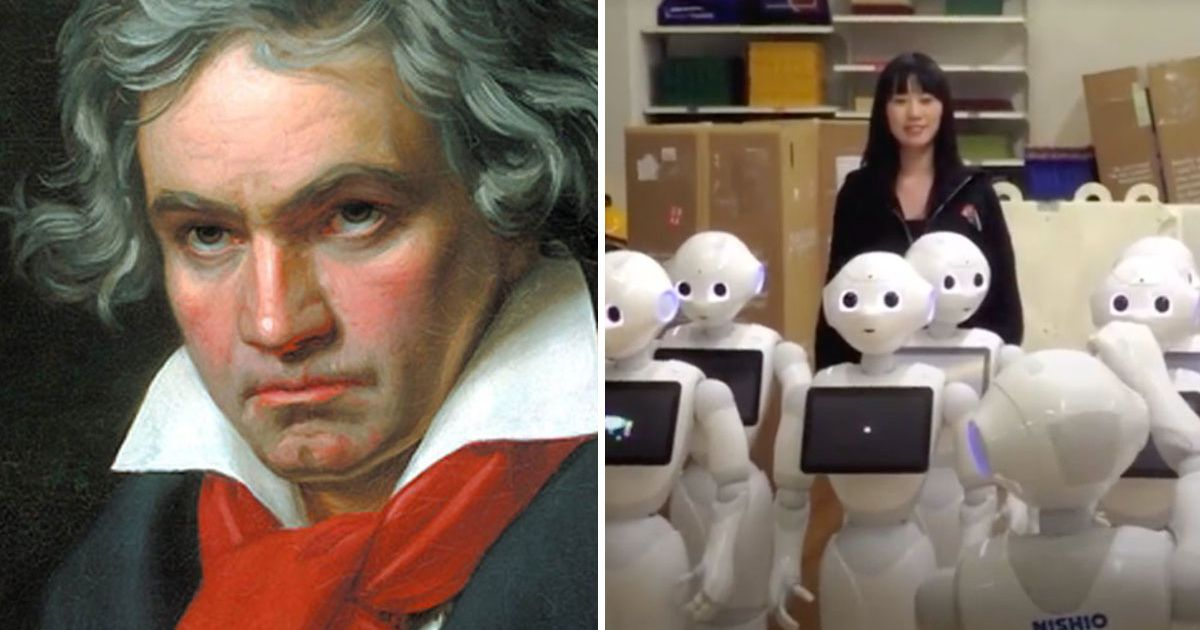 Robot-Choir-sing-Beethoven